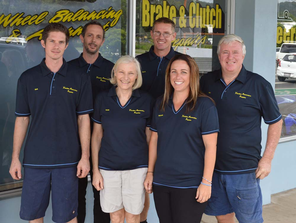 Yandina Auto team out front